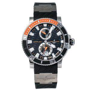Ulysse Nardin Black Titanium Marine Diver 263-90 Men's Wristwatch 45 mm