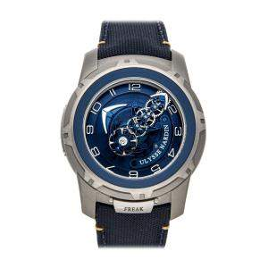 Ulysse Nardin Blue Titanium Freak Out 2053-132/03.1 Men's Wristwatch 45 MM