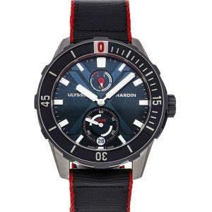 Ulysse Nardin Black Titanium Diver X Nemo Limited Edition 1183-170LE/93-NEMO Men's Wristwatch 44 MM