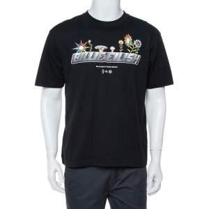 Uniqlo T Murakami X Billie Eilish Black Cotton Short Sleeve T-Shirt S