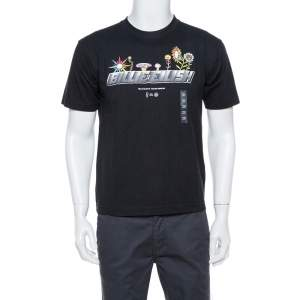 Uniqlo T Murakami X Billie Eilish Black Cotton Short Sleeve T-Shirt M
