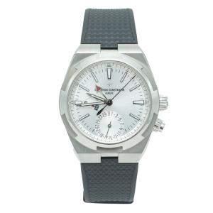 Vacheron Constantin Overseas Silver Dial Stainless Steel Men's Watch 41 MM