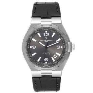 Vacheron Constantin Gray Stainless Steel Overseas Deep Stream 47040 Men's Wristwatch 42.5 MM