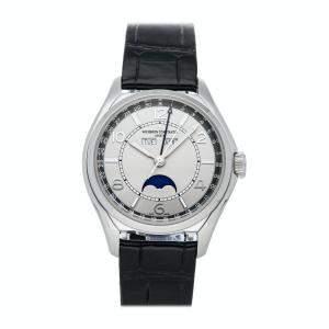Vacheron Constantin Grey Stainless Steel FiftySix Complete Calendar 4000E/000A-B439 Men's Wristwatch 40 MM