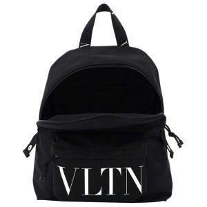 Valentino Black Nylon Garavani Backpack Bag