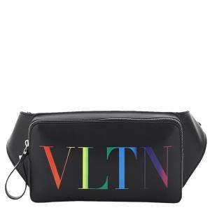 Valentino Garavani Multicolor VLTN Print Belt Bag