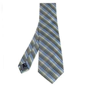 ربطة عنق فالنتينو حرير جاكار مخطط متعدد الألوان