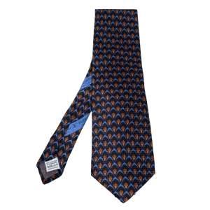 ربطة عنق فالنتينو تراديشونال سوداء مطبوعة