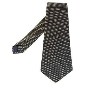 ربطة عنق فالنتينو تراديشنال حرير جاكار أزرق داكن