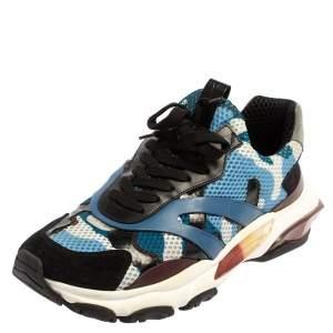 حذاء رياضي فالنتينو باونس شبكة وسويدي متعدد الألوان بعنق منخفض مقاس 43