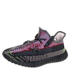 Yeezy Multicolor Yecheil Cotton Knit Boost 350 V2 Sneakers Size 41.5
