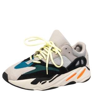 Yeezy x adidas Multicolor Mesh And Suede Boost 700 Wave Runner Sneakers 43.5