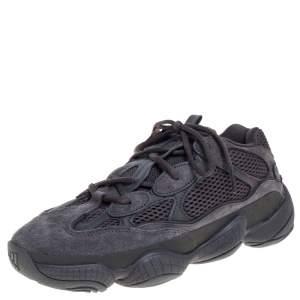 Yeezy 500 Utility Black Sneakers US Size 8.5 EU Size 42