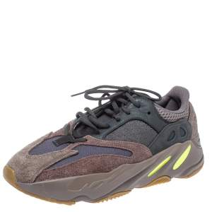 Yeezy x Adidas Grey Suede And Mesh Boost 700 Mauve Sneakers Size 42 2/3