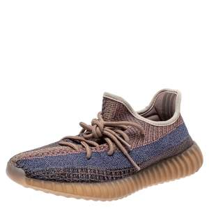 Yeezy x Adidas Multicolor Cotton Knit 'Yecher' Sneakers Size FR 40
