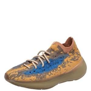 حذاء رياضى ييزى وأديداس ريفليكتيف أوت 380 بوت قماش تريكو متعدد الألوان مقاس 4. 1/3
