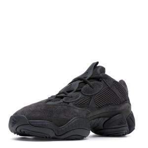 """حذاء رياضي ييزي x أديداس """"يوتيليتي 500"""" شبك و سويدي أسود مقاس أوروبي 43 1/3 (مقاس أمريكي 9.5)"""