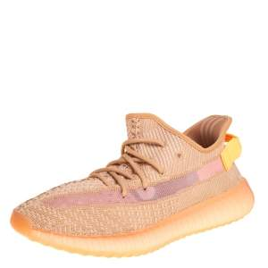 Yeezy x adidas Clay Knit Fabric Boost 350 V2 Sneakers Size 41 1/3