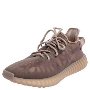 Adidas Yeezy Boost 350 V2 Mono Mist Beige Net Sneaker Size 42
