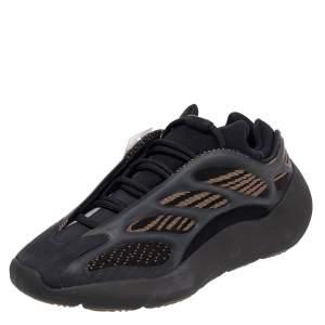 Yeezy x Adidas Black Knit Fabric 700 V3 Clay Brown Size 40 2/3