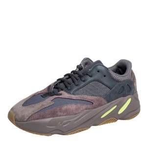 Yeezy x Adidas Grey/Brown Mesh And Suede Boost 700 Mauve Sneakers Size 46