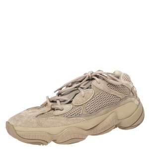حذاء رياضي اديداس X ييزي 500  بوست تيوب لايت شبك وسويدي بيج مقاس 42 2/3
