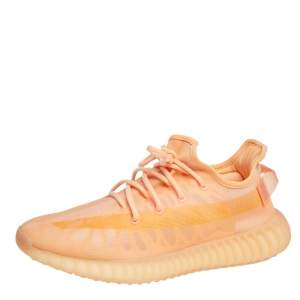 حذاء رياضي اديداس X ييزي 350 V2 مونو كلاي شبك برتقالي مقاس 44