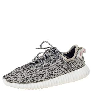 Yeezy x Adidas Turtledove Cotton Knit Boost 350 Sneakers Size 42.5