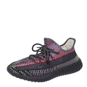 Yeezy x Adidas Multicolor Knit Fabric Boost 350 V2 Yecheil (Non-Reflective) Sneakers Size 40