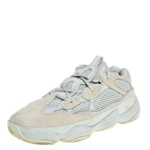 Yeezy x Adidas Suede and Mesh Yeezy 500 Salt Sneakers Size 39
