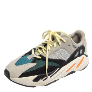 Yeezy x adidas Multicolor Mesh And Suede Boost 700 Wave Runner Sneakers Size 44 2/3