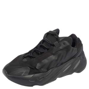 Yeezy x Adidas Triple Black Yeezy 700 MNVN Reflective Sneakers Size FR 38.5