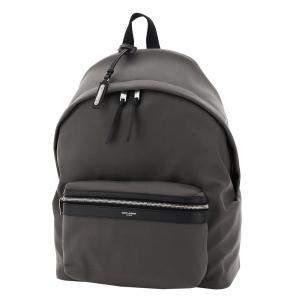 Saint Laurent Black City Leather Backpack