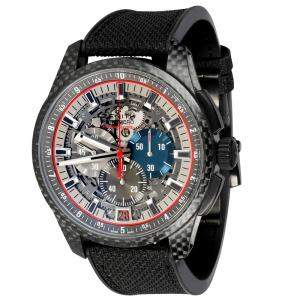Zenith Black Carbon Fiber El Primero 10.2260.4052W/98.R573 Men's Wristwatch 45 MM