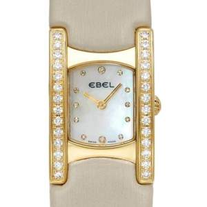 Ebel Swiss Quartz Movement Diamond 18K Gold Watch