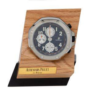 Audemars Piguet Royal Oak Offshore Chronograph Stainless Steel Table Clock 64 MM