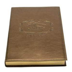 Burberry Leather Notebook