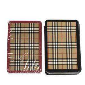 Burberry Playing Cards Set