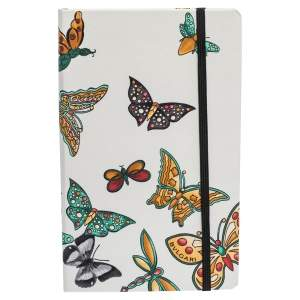 Bvlgari White Butterfly Notebook