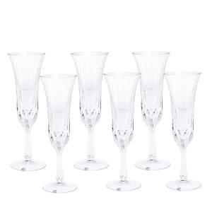Cartier La Maison Du Prince Champagne Flute Glass Set