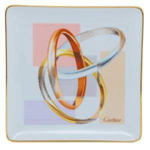 Cartier Trinity Mini Porcelain Tray