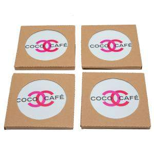 Chanel Coco Cafe Ceramic Coasters Set