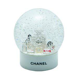 Chanel White Snowball 11 CM