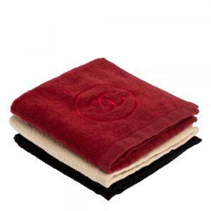Chanel Beauté Cotton 3 Pc Hand Towel Set