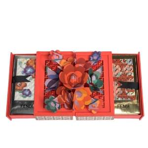 Fendi Red Art Box Pocket Envelope Sets