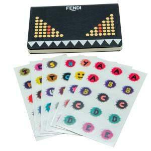 Fendi Stickers Notebook