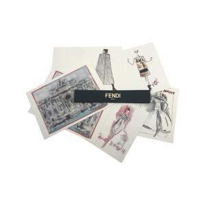 Fendi Cards & Envelopes Set of 8