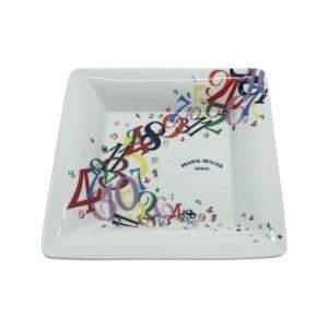 Franck Muller Crazy Hour Theme Porcelain Tray