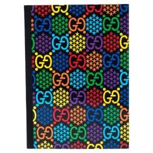 Bvlgari Multicolor GG Psychedelic Print Notebook