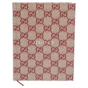 Gucci Red Monogram Print My Scrapbook